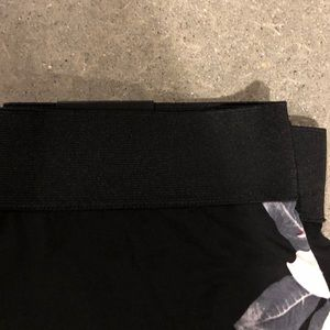 Alfani Pants - Black floral wide leg flowy pants